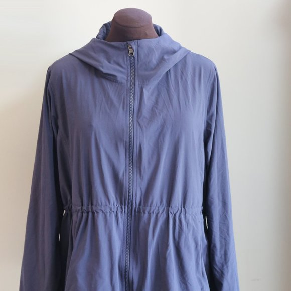 lululemon athletica Jackets & Blazers - LULULEMON Studio Zip Front Hooded Lined Jacket 12